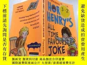 二手書博民逛書店horrid罕見henry s all time favourite joke book:可怕的亨利一直以來最喜歡