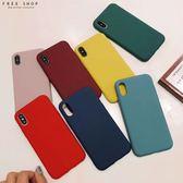 Free Shop 蘋果iPhone X XS XR XS MAX 8 7 6 TPU 一體成型矽膠防摔軟殼手機殼【QCNQ30177 】