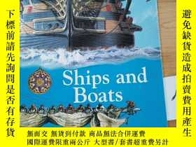 二手書博民逛書店Ships罕見and BoatsY15335