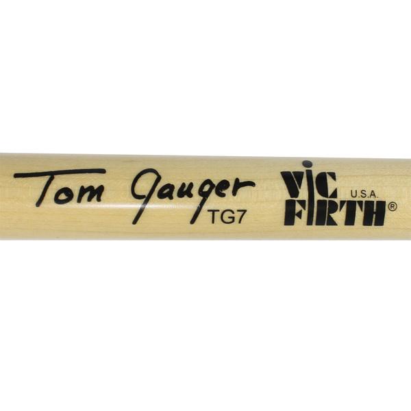 小叮噹的店- 大鼓棒 美國 Vic Firth TG07 室內大鼓棒 TOM GAUGER ULTRA STACCATO