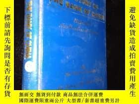 二手書博民逛書店A罕見HISTORY OF THE BANK OF CHINA