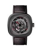 SEVENFRIDAY 時尚黑自動上鍊機械錶47mm/P3B
