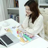 電腦桌墊 發熱滑鼠墊冬季電腦暖手桌墊24v加熱辦公室超大暖桌寶學生寫字臺 卡菲婭
