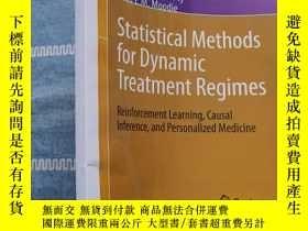 二手書博民逛書店Statistical罕見Methods for Dynamic Treatment RegimesY2776