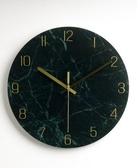 掛鐘靜音掛鐘客廳石英鐘表家用時鐘創意時尚現代簡約大氣藝術輕奢北歐 JD 新年禮物