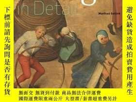 二手書博民逛書店Bruegel罕見In Detail - Portable Edition荷蘭畫家彼得·勃魯蓋爾,英文原版Y4