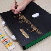 學生辦公手提A4風琴包多層文件夾票據收納風琴夾資料試卷   歐韓流行館