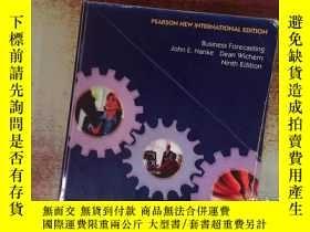 二手書博民逛書店Business罕見Forecasting Hanke Wichern Ninth EditionY19883