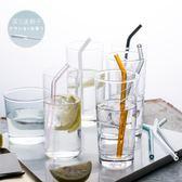 耐高溫環保級別高硼硅玻璃吸管2件洛麗的雜貨鋪