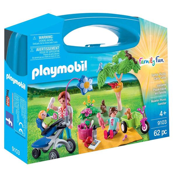 playmobil 提盒系列 家族野餐_PM09103