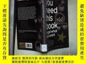 二手書博民逛書店you罕見need this book mark palmer&