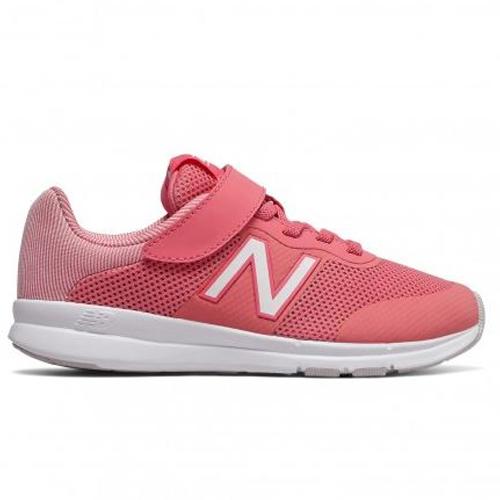 New Balance 童鞋 大童 慢跑 寬楦 針織 透氣 輕量 回彈 粉【運動世界】YOPREMPK