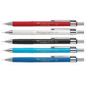 【FABER-CASTELL】輝柏 自動鉛筆0.5mm 5色筆桿 / 支 231521/231501/231599/231552/231551