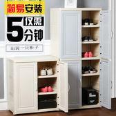 大容量家用鞋櫃歐式簡約現代玄關經濟型多功能門廳寶寶收納儲物櫃
