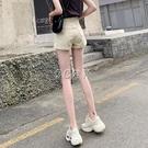 詩坊牛仔短褲女寬鬆韓版高腰顯瘦夏季新款外穿a學生闊腿熱褲