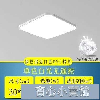 吸頂燈丨LED吸頂燈超薄大氣長方形客廳燈現代簡約臥室書房燈餐廳過道燈具-YYJ 育心館