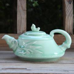 龍泉青瓷 大茶壺