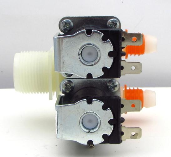 【180°雙孔進水閥】LG  NW-LG 韓製洗衣機 雙管(孔) 一進二出 電磁閥 進水閥 給水閥 外觀相同可用