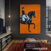 油畫 美式玄關裝飾畫輕奢客廳餐廳掛畫北歐裝飾牆畫歐式人物大幅馬油畫 igo 1995生活雜貨