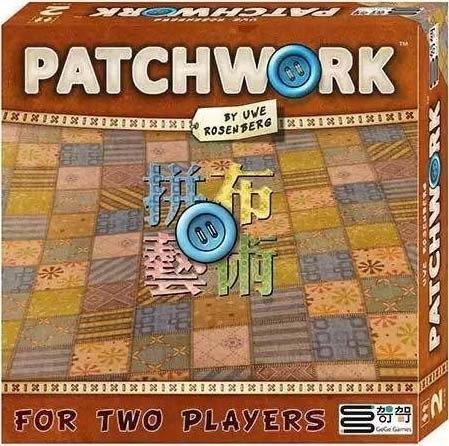 【哿哿】拼布藝術(拼布對決) Patchwork - 中文正版桌遊《德國益智遊戲》中壢可樂農莊