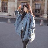 【年終】全館大促風衣寬鬆學生中長款春秋季chic小外衣春裝新款女工裝外套
