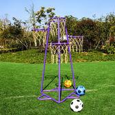 兒童籃球架幼兒園籃球架多籃式兒童玩具籃球架投籃架籃球框xw