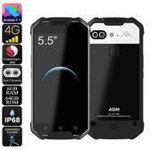 繁體中文版 AGM X2 雙卡 雙鏡頭 6+64GB IP68 三防 手機 防水 防震 防塵 4G LTE 戰狼2 手機