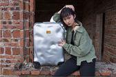行李箱   復古鋁框行李箱萬向輪24寸登機箱破損旅行箱男  瑪麗蘇