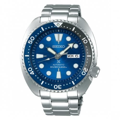 SEIKO PROSPEX愛海洋藍鯊潛水機械腕錶4R36-07D0B/SRPD21J1