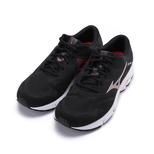 MIZUNO WAVE EQUATE 5 慢跑鞋 黑/紅 J1GC214842 男鞋