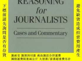 二手書博民逛書店Moral罕見Reasoning For Journalists: Cases And Commentary-新聞