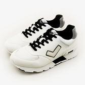 LIKA夢 PONY  繽紛韓風復古慢跑鞋 SOLA-T 閃耀反光系列 白黑 51M1SO80SW 男  6折好康