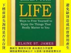 二手書博民逛書店Simplify罕見Your LifeY256260 Elaine St. James Nightingale