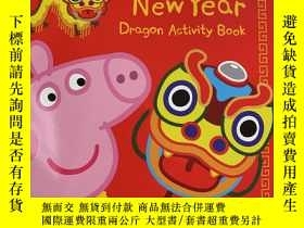 二手書博民逛書店Peppa s罕見Chinese new year dragon activity bookY236663