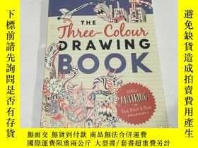 二手書博民逛書店the罕見three-colour drawing bookY3