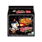 韓國 火辣雞肉風味鐵板炒麵140g*5包(整袋裝)【小三美日】
