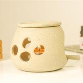 手工粗陶陶瓷精油燈托盤