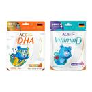 ACE SUPER KIDS 維他命D軟糖42g+DHA 營養Q軟糖39.2g[衛立兒生活館]
