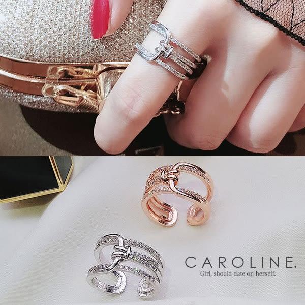 《Caroline》★韓國熱賣造型時尚絢麗閃亮動人.優雅性感戒指70154