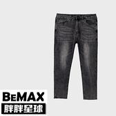 【胖胖星球】中大尺碼‧個性洗舊感刷色牛仔褲 38~50腰‧加大【118301】