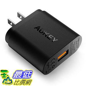 [106美國直購] Quick Charge 快速充電器 3.0 AUKEY USB Wall Charger for Samsung Galaxy S8/S7/S6/Edge