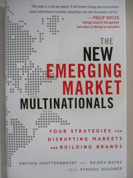 【書寶二手書T1/大學理工醫_I48】The New Emerging Market Multinationals: Four…