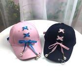 萬聖節大促銷 女童帽子春秋韓版個性潮街親子鴨舌帽母女時尚百搭遮陽棒球帽兒童