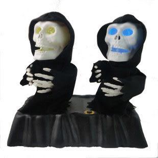 恐怖電動搞怪玩具 雙人鬼