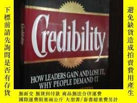 二手書博民逛書店Credibility:罕見How Leaders Gain a