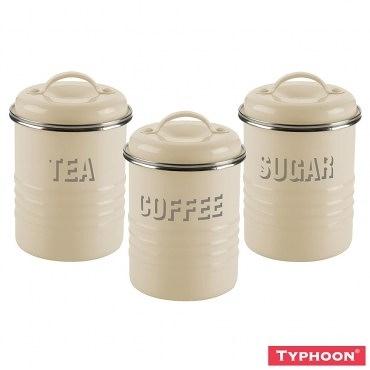 【TYPHOON】復古儲存罐3入組(米)