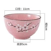 日式創意家用餐具陶瓷碗套裝飯碗碗筷套裝吃飯米飯碗碗碟套裝10個