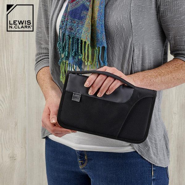 Lewis N. Clark RFID屏蔽手提多功能收納包 1249 / 城市綠洲 (防盜錄、旅行收納、旅遊配件、美國品牌)