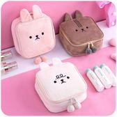 化妝包 可愛粉少女心化妝包小號便攜韓國簡約ins軟妹洗漱品收納包袋隨身