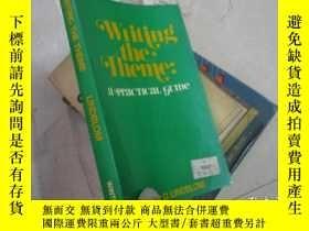 二手書博民逛書店WRITING罕見THE THEME LINDBLOMY1715